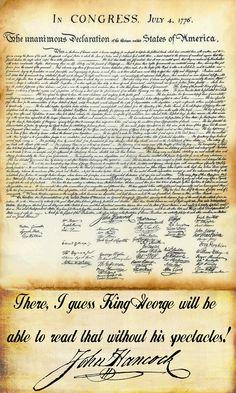 John Hancock Quote and the Declaration http://scripturesquegraphics.com/john-hancock/ Click on the image