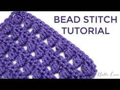 crochet stitches tunisian Let's learn how to crochet this beautiful bead stitch using the step by step crochet tutorials. - Let's learn how to crochet this beautiful bead stitch using the step by step crochet tutorials. Crochet Afghans, Tunisian Crochet Stitches, Crochet Stitches Patterns, Crochet Stitches For Beginners, Crochet Videos, Crochet Basics, Crochet Tutorials, Crochet Projects, Learn To Crochet