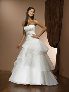 wedding dresses Strapless Lace Wedding Dress d8e4587011dd