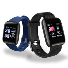 Smart Watches 116 Plus Heart Rate Watch Smart Wristband Sports Watches Smart Band Waterproof Smartwatch Android Compatible OS: Android,IOS. ● The bracelet ismade of diamond-shaped lattice texture. Smartwatch, Sport Watches, Watches For Men, Popular Watches, Smart Watch Price, Waterproof Fitness Tracker, Smart Bracelet, Heart Rate Monitor, Computers