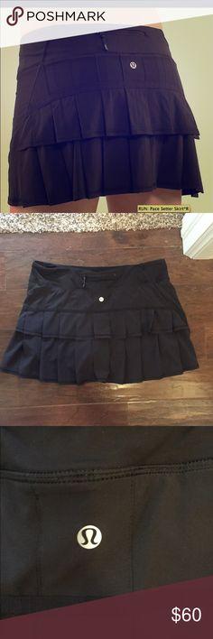 Lululemon Pace Setter Skirt Size 12. NWOT. No trades lululemon athletica Skirts