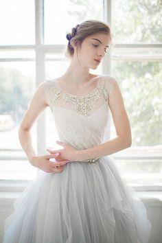 Tulle wedding gown // Gardenia // 2 pieces by CarouselFashion