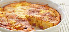 Ham and Cheese Frittata - http://www.semihomemade.com/recipes/lunch/ham-and-cheese-frittata/583