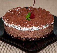 Torta Mousse de Doce de Leite com Chocolate