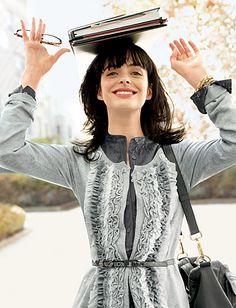 I'm a huge Kristen Ritter fan. Love her style.