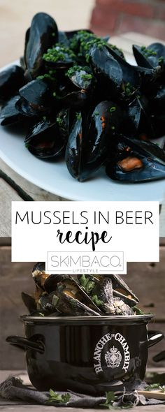 Prince Edwards Islands mussels cooked in Canadian Unibroue beer. Click to get this amazing seafood recipe for your summer cookout.