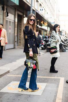 Semana de la moda de Milán otoño-invierno 2015 Carlota Oddi