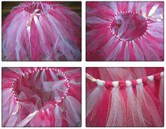 Afocal Bretagne. Un jupe en tulle, super simple. Peut faire l'objet d'un atelier de création pour préparer Halloween ou simplement pour un costume de jeu !