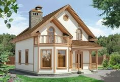 Country House Design, House Front Design, Country Style House Plans, Cottage Floor Plans, Dream House Plans, Style At Home, Adobe Haus, Model House Plan, Home Design Floor Plans