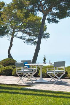 SIFAS Stuhl und Tisch neue Kollektion 2018  INFO unter www.das-moebelnetzwerk.de Outdoor Furniture, Outdoor Decor, Sun Lounger, Outdoor Living, Home Decor, Table, Chaise Longue, Outdoor Life, Interior Design