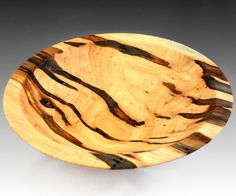 Large Ambrosia Maple Bowl by NorwegianWoodGallery on Etsy, $148.00