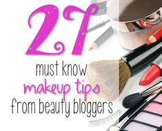 27 Must Know Makeup Tips from Beauty Bloggers - How to fix broken powder makeup!!!