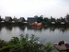 a view at dusun bambu