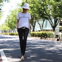 いいね!4,410件、コメント34件 ― TOMIOKA YOSHIKO OFFICIALさん(@yoshikotomioka)のInstagramアカウント: 「#outfit #happiness10 《AWESOME》 アイテムについてはタップしてみて下さいね☺︎」
