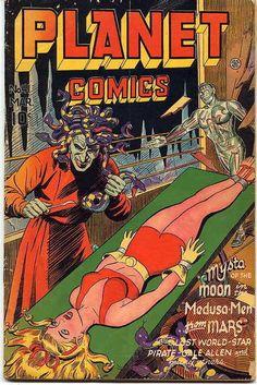 novocainelipstick:  Planet comics