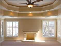 Double Tray Ceiling Design Ideas Pictures Remodel And Decor Vrojifivv Bulkhead Lights