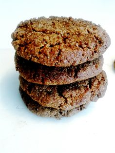 Egg-Free Ginger Molasses Cookie Recipe from Liberate Your Plate