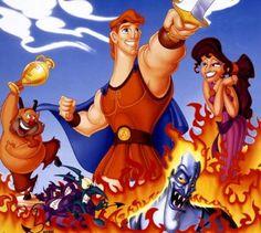 *PHIL, HERCULES, MEG & HADES ~ Hercules, 1997