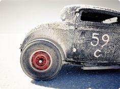 Bonneville Salt Flats vintage car