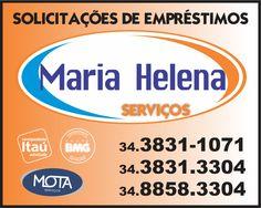A Solicitações de Empréstimos - Maria Helena Serviços é um parceiro do Guia OlhouLigou, a empresa Solicitações de Empréstimos - Maria Helena Serviços atua no mercado financeiro de empréstimos em geral.
