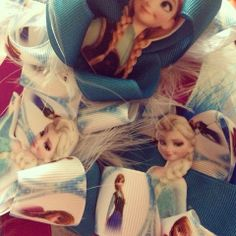 Frozen hair bows from HPA