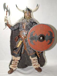inspiración disfraz vikingo