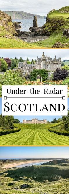 5 under-the-radar places to travel in Scotland, from the castles to the islands. schottland Under-the-Radar Places to Travel in Scotland - 5 Must-See Spots Scotland Road Trip, Scotland Vacation, Scotland Travel, Ireland Travel, Visiting Scotland, Italy Travel, Dream Vacations, Vacation Spots, Vacation Travel