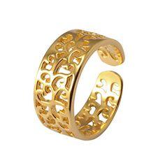 Bonyak Jewelry Round Double Loop Bangle Bracelet w//St Cornelius in Sterling Silver