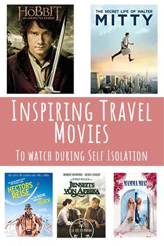 Inspiring Travel Movies to Watch - La Vie En Marine Virtual Travel, New Travel, Canada Travel, Travel Usa, Travel Tips, Travel Essentials, Virtual Museum Tours, Life Of Walter Mitty, Travel Movies