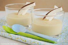 Neus cocinando con Thermomix: Natillas de coco