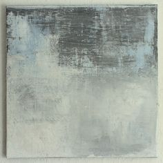 CHRISTIAN HETZEL: blue grey painting