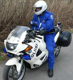 Police Motorcycle Finland