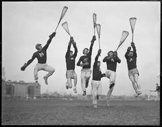 Vintage photo of Harvard Varsity Lacrosse and History Of Photography, Street Photography, Old Scool, Leslie Jones, Boston Public Library, Men's Fashion Brands, Great Photographers, Historical Society, Sports Illustrated