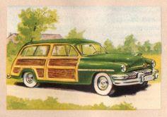 My all-time dream car: a Woody--1951 Mercury station wagon!