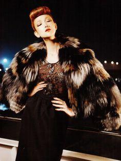 Ai Tominaga, Han Jin, Hyun Yi Lee, Lee Hye Jung, Sun Fei Fei & Shu Pei in Vogue Korea, August 2011