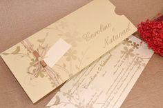 Convite de Casamento - Papel e Estilo