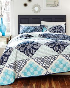 another great find on sedona geometric quilt set by chf industries