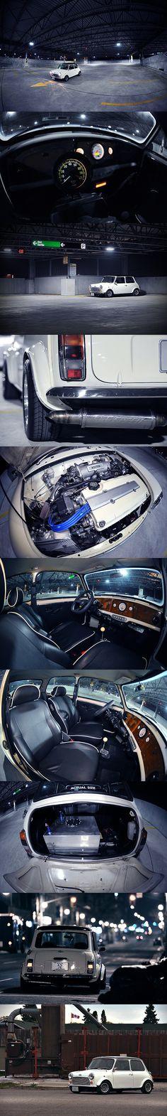 Classic #Mini Vtec. #Honda #VTEC #Rvinyl http://www.rvinyl.com/Honda-Accessories.html