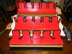 How To Make Movie Theater Seats (easy) | by OneSixthAvenue