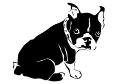 Dibujo para colorear perro - bulldog francés