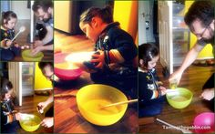 Taming the Goblin: Family Baking- peanut butter pound cake