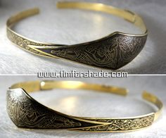 Celtic crown diadem tiara by TimforShade etched brass jewelry costume cosplay LARP LRP clothes clothing equipment gear magic item | Create your own roleplaying game material w/ RPG Bard: www.rpgbard.com | Writing inspiration for Dungeons and Dragons DND D&D Pathfinder PFRPG Warhammer 40k Star Wars Shadowrun Call of Cthulhu Lord of the Rings LoTR + d20 fantasy science fiction scifi horror design | Not Trusty Sword art: click artwork for source
