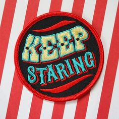 Brand new Keep Staring patches by @creepnik!    An acknowledgement to…