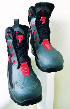 Columbia Omni Grip Lace Up Women Boots by loveusati on Etsy