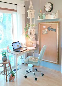 Zen Office, Small Space Office, Office Nook, Small Spaces, Office Table, Garage Office, Work Spaces, Office Chairs, Lounge Chairs