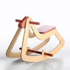 rocking horse C03, Emanuel Rufo wooden toys
