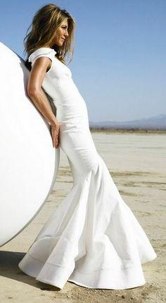 Jennifer Anderson in White