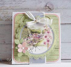 Cards made by Wybrich: Marianne Design challenge 146