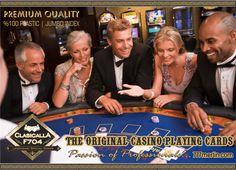 % 100 Plastik Orjinal Casino Oyun kartı