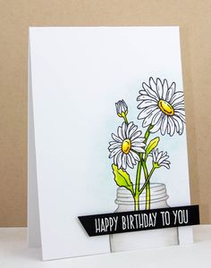 Creative Inspirations: Jane's Doodles - Happy Birthday to You